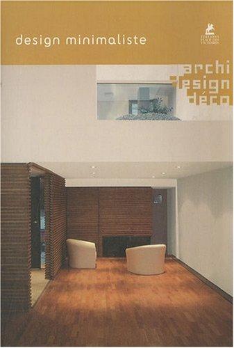 Livre design minimaliste for Design minimaliste