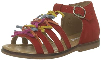 MOD8 Baby ANOA* Baby Shoes Red Rot (ROUGE NOEUD MULTI*) Size: 22
