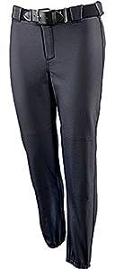 Womens Softball Pants Black