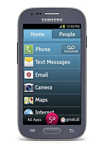 GreatCall Samsung Jitterbug Touch3 Senior Smartphone with 1-Touch Medical Alert and Large Display