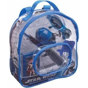Star wars kids backpack and fishing kit for Fishing backpack amazon