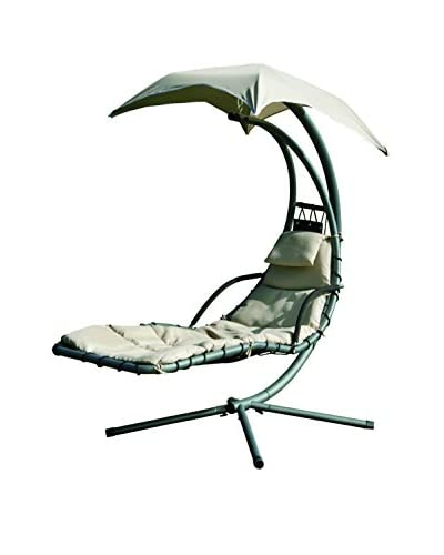 Suntime Helicopter Swing Steel Lounge, Beige As You See