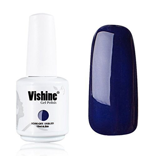 Vishine-Gelpolish-Professional-UV-LED-Soak-Off-Varnish-Color-Gel-Nail-Polish-Manicure-Salon-Royalblue1414