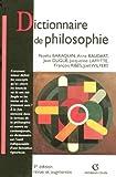 echange, troc Noëlla Baraquin, Anne Baudart, Jean Dugué, Jacqueline Laffitte, Collectif - Dictionnaire de philosophie