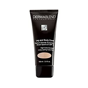 Dermablend Leg and Body Cover Make-Up SPF 15, Beige, 3.4 Ounce