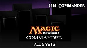 Commander 2016 MTG Magic The Gathering SET OF ALL 5 DECKS