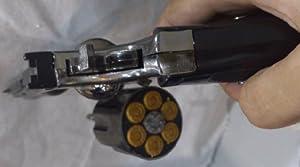 Relistic 1:1 Large Revolver Python 357,Gun lighter, man lighter,windproof... by KD