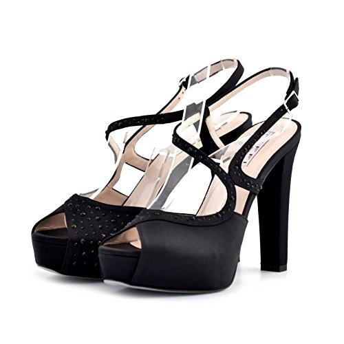 Sandali gioielli Tiffi nero 38
