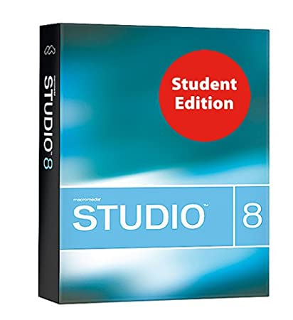 Studio 8 Student & Teacher Edition (Includes: Flash Professional 8, Dreamweaver 8, Fireworks 8, Contribute 3, and FlashPaper 2)