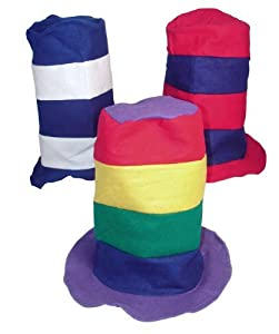 Stovepipe Party Hat Assortment (1 dz) [Toy] from Fun Express