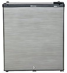Electrolux EC060PSH-FDW/EC062PBH-FDW Direct-cool Single-door Refrigerator (47 Ltrs, Silver Hairline/Black Hairline)