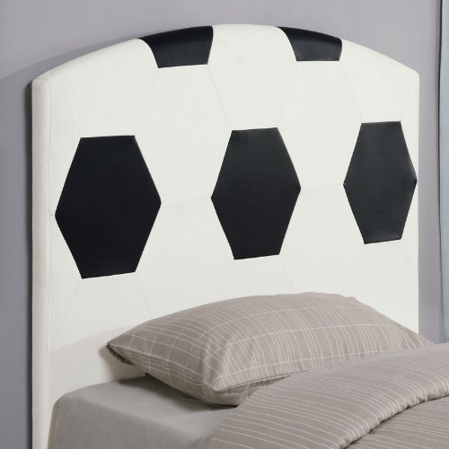 Cheap Twin Size Kid Headboard with Soccerball Design (VF_460168)
