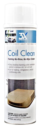 3X:Chemistry 46822 Foaming Coil Cleaner - 18 oz. (Coil Cleaner Brush compare prices)