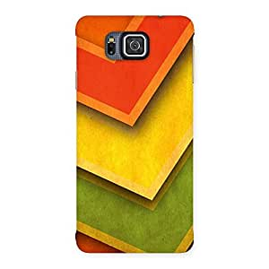 Special Multicolor Merge Back Case Cover for Galaxy Alpha