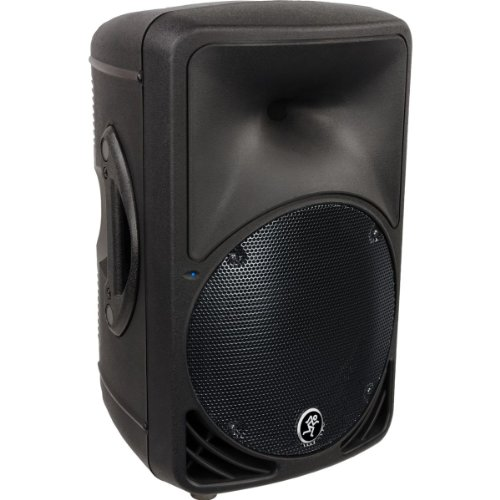 New Mackie | High-Performance Optimized 2-Way Bi-Amplified Active Loudspeaker System, Srm350V2 With 10-Inch Neodymium Long-Throw Low Frequency Transducer (10-Inch)