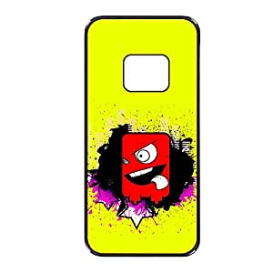 Vibhar printed case back cover for Samsung Galaxy S6 RedMonster