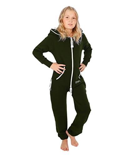 Zipups Mono-Pijama Cut Verde