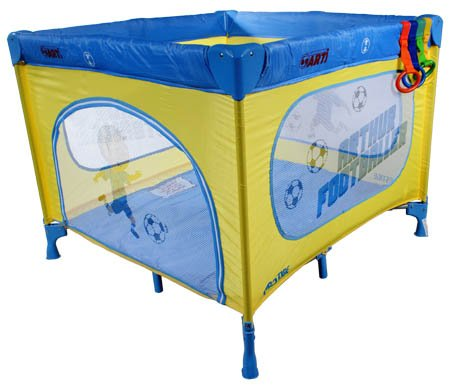 Playpen Baby Travel Cot / Bed ARTI Basic new Footballer Coffe Blue Child Cribs Portable Bed Play Pen