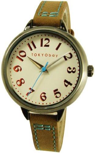 tokyobay-t360-br-orologio-analogico-da-donna