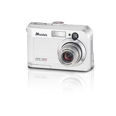 Mustek MDC530Z 5MP Digital Camera with 3x Optical Zoom