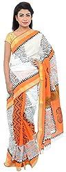 Monash Creations Kerala Cotton Saree For Women