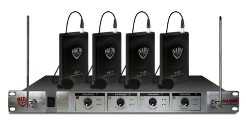 ... E4FHE 4-CHANNEL Professional VHF Wireless Lavalier Microphone System