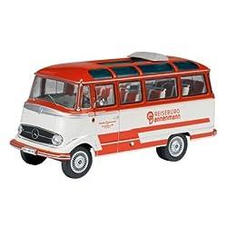 Schuco 1/43 メルセデス・ベンツ O319 バス REISEBUERO レッド/アイボリー