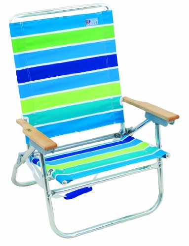 Rio 4 position easy in easy out beach chairs set of 2 for Sitting easy chairs