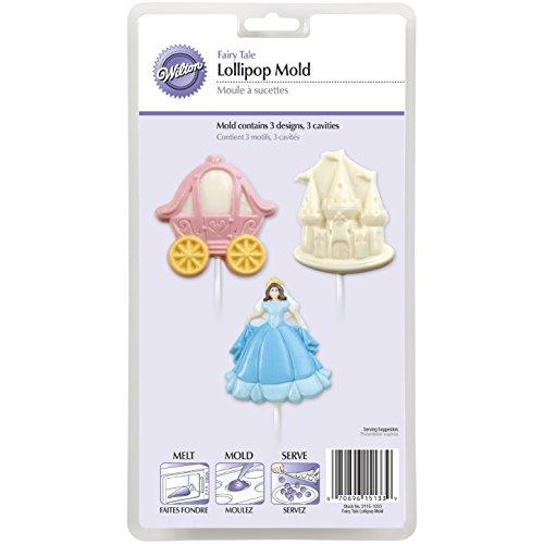 Wilton 2115-1033 Princess Party Fairy Tale Lollipop Mold