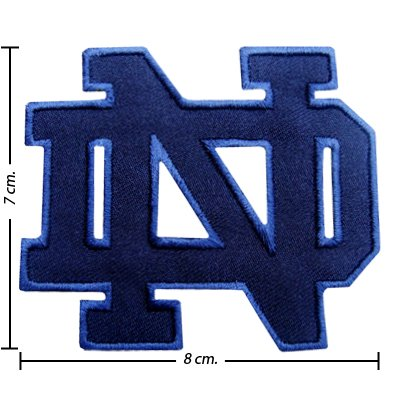 Notre Dame Fighting Irish Type-1 Embroidered Iron On Patch (Notre Dame Iron On Patch compare prices)