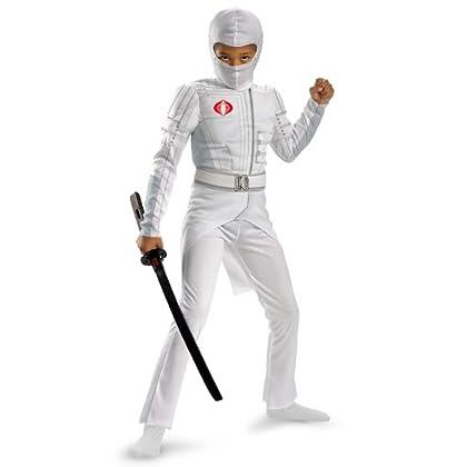 10-12 Disguise Power Rangers Ninja Steel Deluxe Costume Large Pink