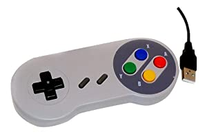 USB PC Retro Gaming Controller Joypad Snes Style Pad