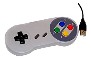 USB PC Retro Gaming Controller Joypad Snes Style Pad