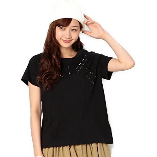 (コーエン) COEN 【Market】ミラーワーク刺繍Tシャツ 76256125007 09 Black フリー