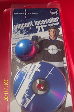 training ball & cd-rom-SHOOTING TO SCORE DISC 4/vincent lecavalier 21 day workout