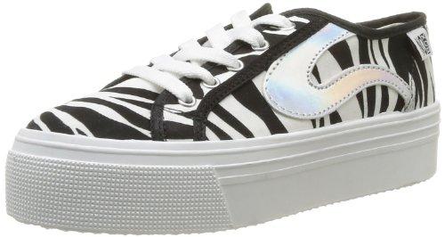 No Box  Alma,  Sneaker donna, Nero (Noir (Zebra)), 41