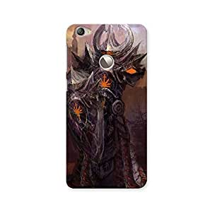 ArtzFolio Devil Style : LeTV Le 1s Matte Polycarbonate ORIGINAL BRANDED Mobile Cell Phone Protective BACK CASE COVER Protector : BEST DESIGNER Hard Shockproof Scratch-Proof Accessories