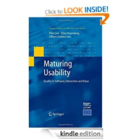 Maturing Usability: Quality in Software, Interaction and Value (Human-Computer Interaction Series)