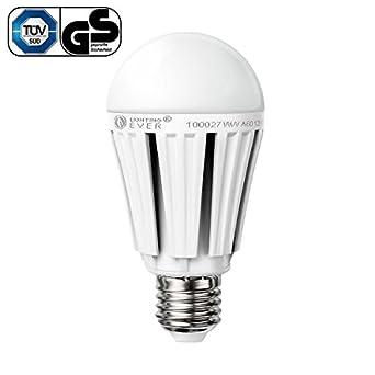 Lighting EVER 12W A60 Sehr Helles LED Lampe, Samsung LED, Gleich 75W Glühlampe, 1080lm, Warmweiß, Leuchtmittel, Lampen