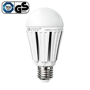 LE Ampoule LED 12W, A60 E27, Equivalant à une Ampoule Incandescente 75W, Samsung LED, 1080lm, Blanc Chaud