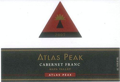 2007 Atlas Peak Cabernet Franc, Atlas Peak Mtn 750 Ml