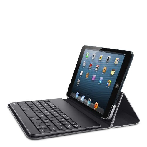 Belkin QODE Portable Bluetooth Keyboard and Case for iPad mini 3, iPad mini 2 with Retina Display and iPad mini  (Black) (Ipad Retina Display Cases Belkin compare prices)