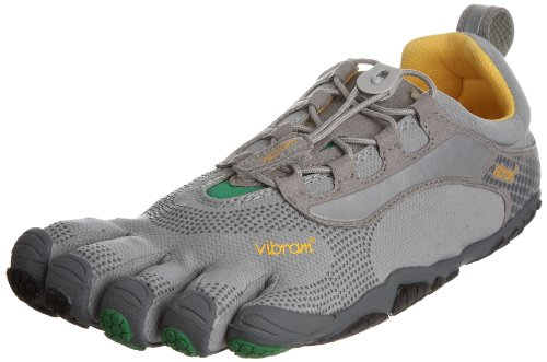 Vibram Mens Bikila LS Athletic Shoe Grey / Green / Black Size 43