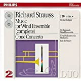 Strauss: Music for Wind Ensemble (Complete) / Oboe Concerto