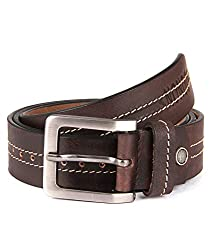 Zonon hand made leather belt for men, Brown, Zonon007