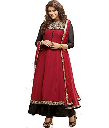 Craze N Demand Beautiful Wear Anarkali Type Salwar Suits Salwar Kameez Indian Womens Wear Ladies Wear Suit Dress Material