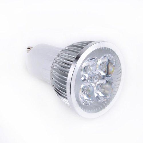 Ostart Gu10 110V Indoor Led Light Ceiling Light Bulb 4W Warm White 3000K-3500K