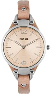 Fossil-Georgia-Three-Leather-Watch