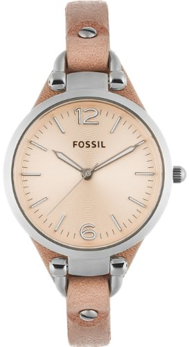 FOSSIL Georgia Three Hand Leather Watch Sand
