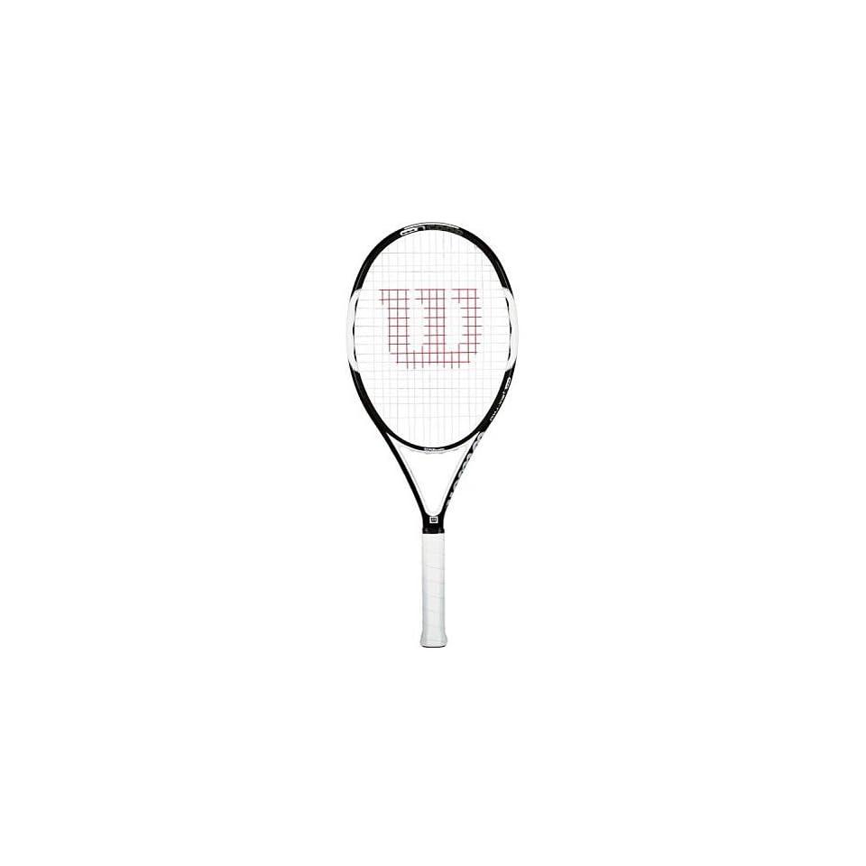 uk cheap sale new design authentic Wilson nCode Nsix Two OS Tennis Racquet T7766 Grip Size 4 3 ...